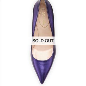 SJP by Sarah Jessica Parker Shoes - SJP purple/blue fawn metallic heels